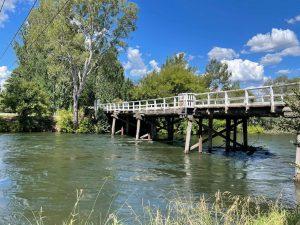 Tumut River and bridge